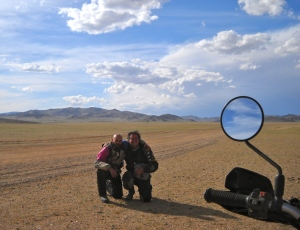 Matteo and Me in Mongolia