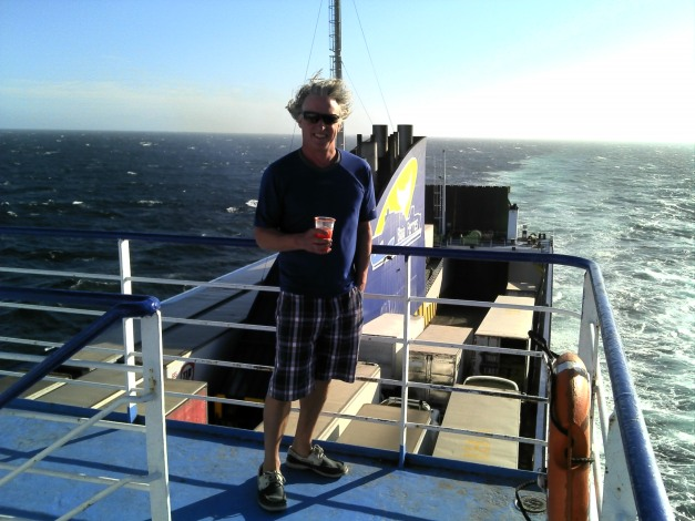 Lee on the ferry from Baja to Topolobampo