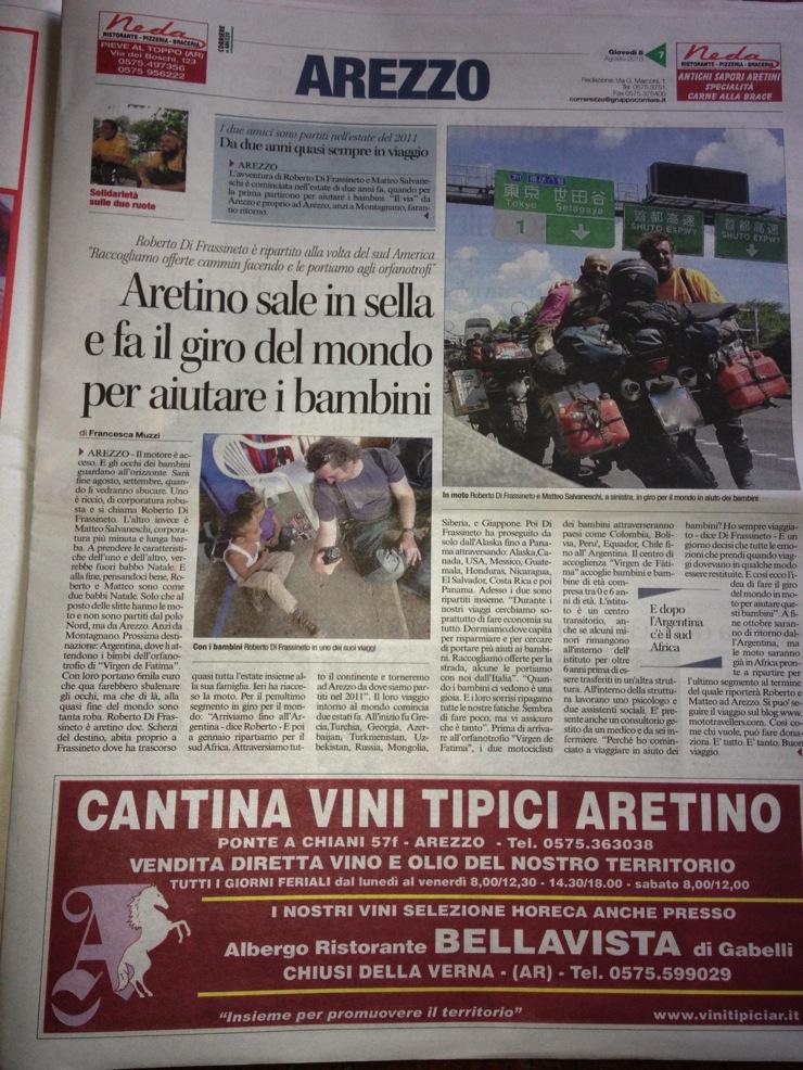 Corriere arezzo