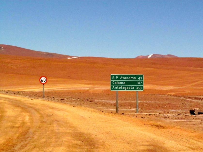 On our way to San Pedro de Atacama