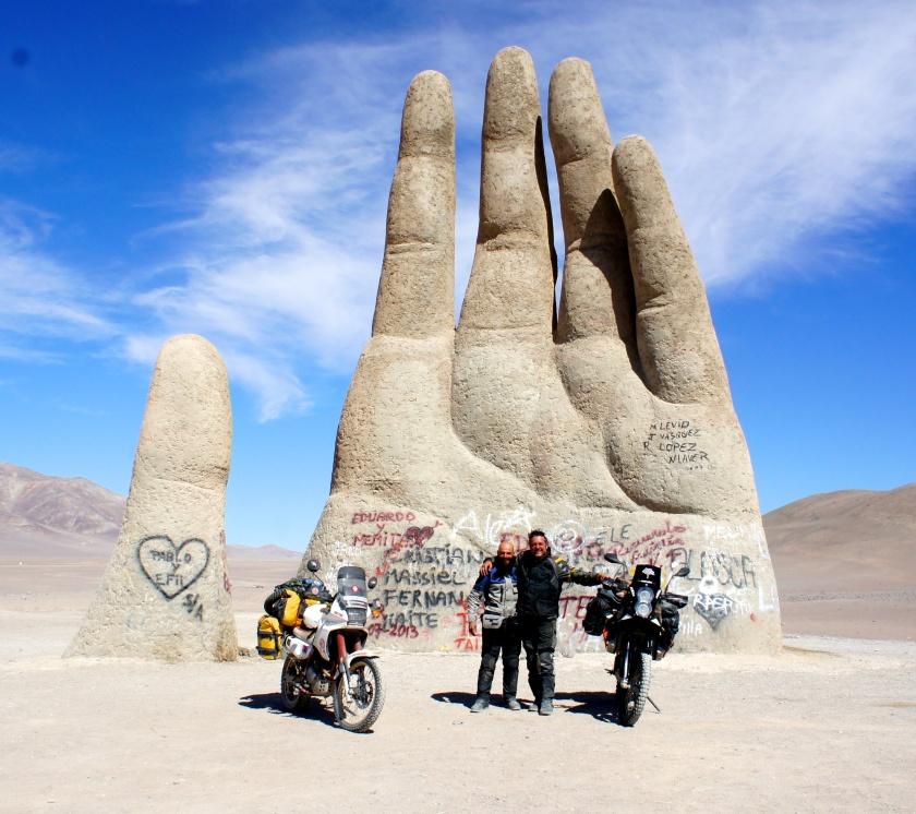 La mano de desierto