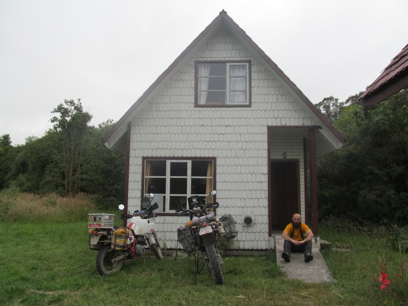 Our first accommodation on the Carretera Austral