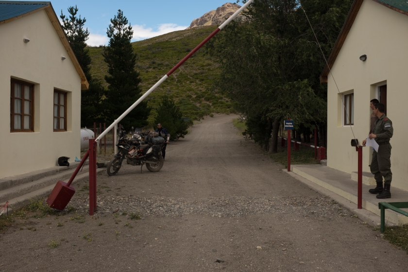 """Border crossing """"Pass Pallavicini"""""""
