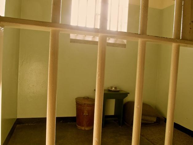 Nelson Mandela cell