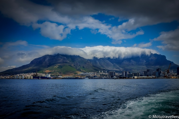 Panorama Of Cape town.