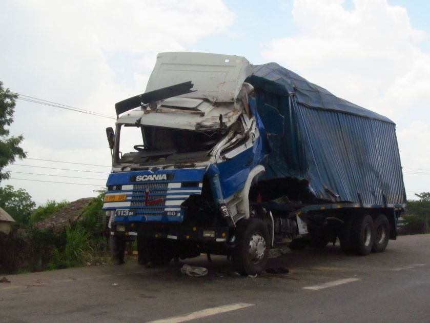 Driving in Tanzania is extremely dangerous due to the careless drivers behavior