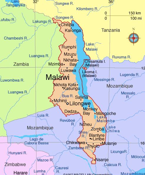 Map Of Malawwi
