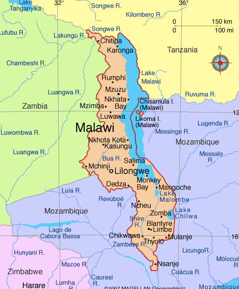 Map Of Malawwi